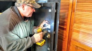 Safes repaired upgraded and replaced recombination