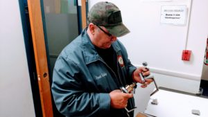 Commercial locksmith Edward Mann